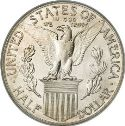 1915 Panama Pacific Exposition Half Dollar Rev
