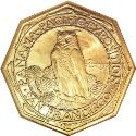 1915 Panama Pacific Fifty Dollar Gold Octagonal Rev