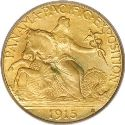 1915 Panama Pacific Quarter Eagle Obv