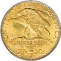 1915 Panama Pacific Quarter Eagle Rev