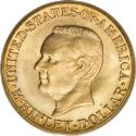 1916 Mckinley Memorial Gold Dollar Obv