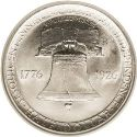 1926 American Independence Sesquicentennial Half Dollar Rev