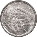 1936 Arkansas Centennial Half Dollar Rev