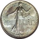 1936 Lynchburg Virginia Sesquicentennial Half Dollar Rev