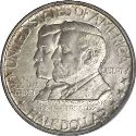 1937 Battle of Antietam Half Dollar Obv