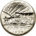 1939 Oregon Trail Half Dollar Obv
