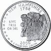 2000 New Hampshire State Quarter