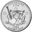 2002 Tennessee State Quarter