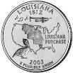 2002 Louisiana State Quarter