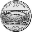 2005 West Virginia State Quarter