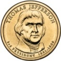 2007 Thomas Jefferson Dollar