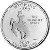 2007 Wyoming State Quarter