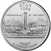 2007 Utah State Quarter