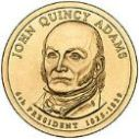 2008 John Quincy Adams Dollar
