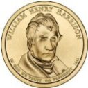 2009 William Henry Harrison Dollar