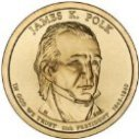 2009 James Polk Dollar