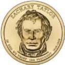 2009 Zachary Taylor Dollar