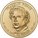 2010 Franklin Pierce Dollar