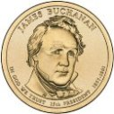 2010 James Buchanan Dollar