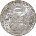 1893 Columbian Exposition Half Dollar Rev