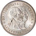 1900 Lafayette Dollar Obv