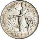 1915 Panama Pacific Exposition Half Dollar Obv