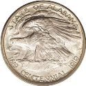 1921 Alabama Centennial Half Dollar Rev