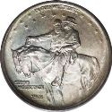 1925 Stone Mountain Memorial Half Dollar Obv