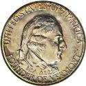 1927 Vermont Sesquicentennial Half Dollar Obv