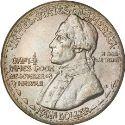 1928 Hawaii Sesquicentennial Half Dollar Obv