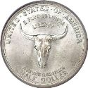1935 Old Spanish Trail Half Dollar Obv