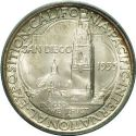 1935 San Diego Exposition Half Dollar Rev