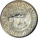 1936 York County Maine Tercentenary Half Dollar Obv