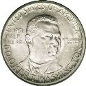 1951 Booker T Washington Half Dollar Obv