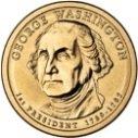 2007 George Washington Dollar