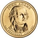 2007 John Adams Dollar