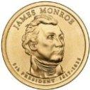 2008 James Monroe Dollar