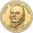 2008 John Quincy Adams Dollar