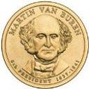 2008 Martin Van Buren Dollar