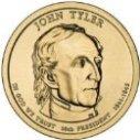 2009 John Tyler Dollar